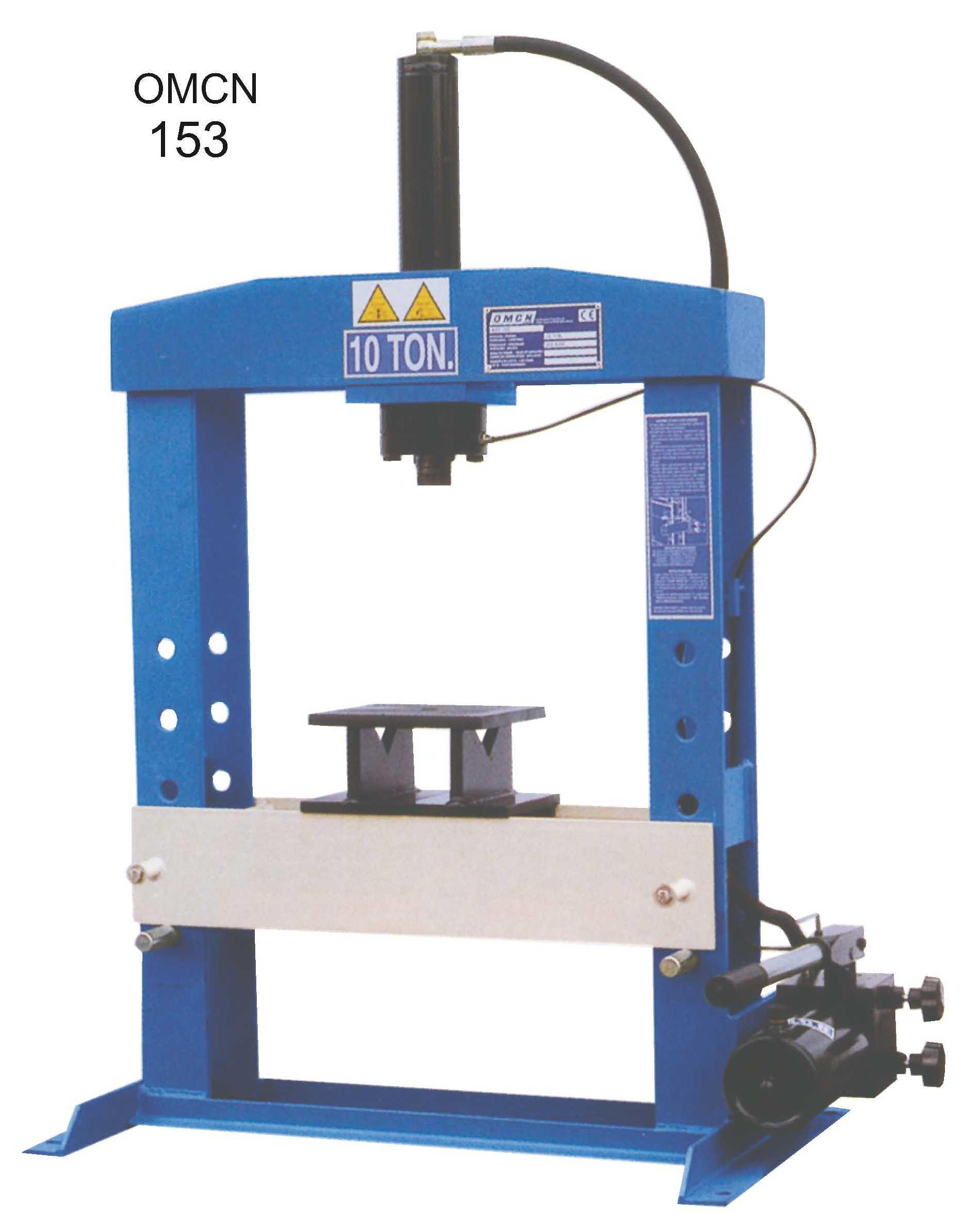 OMCN 154 ruční hydraulický lis