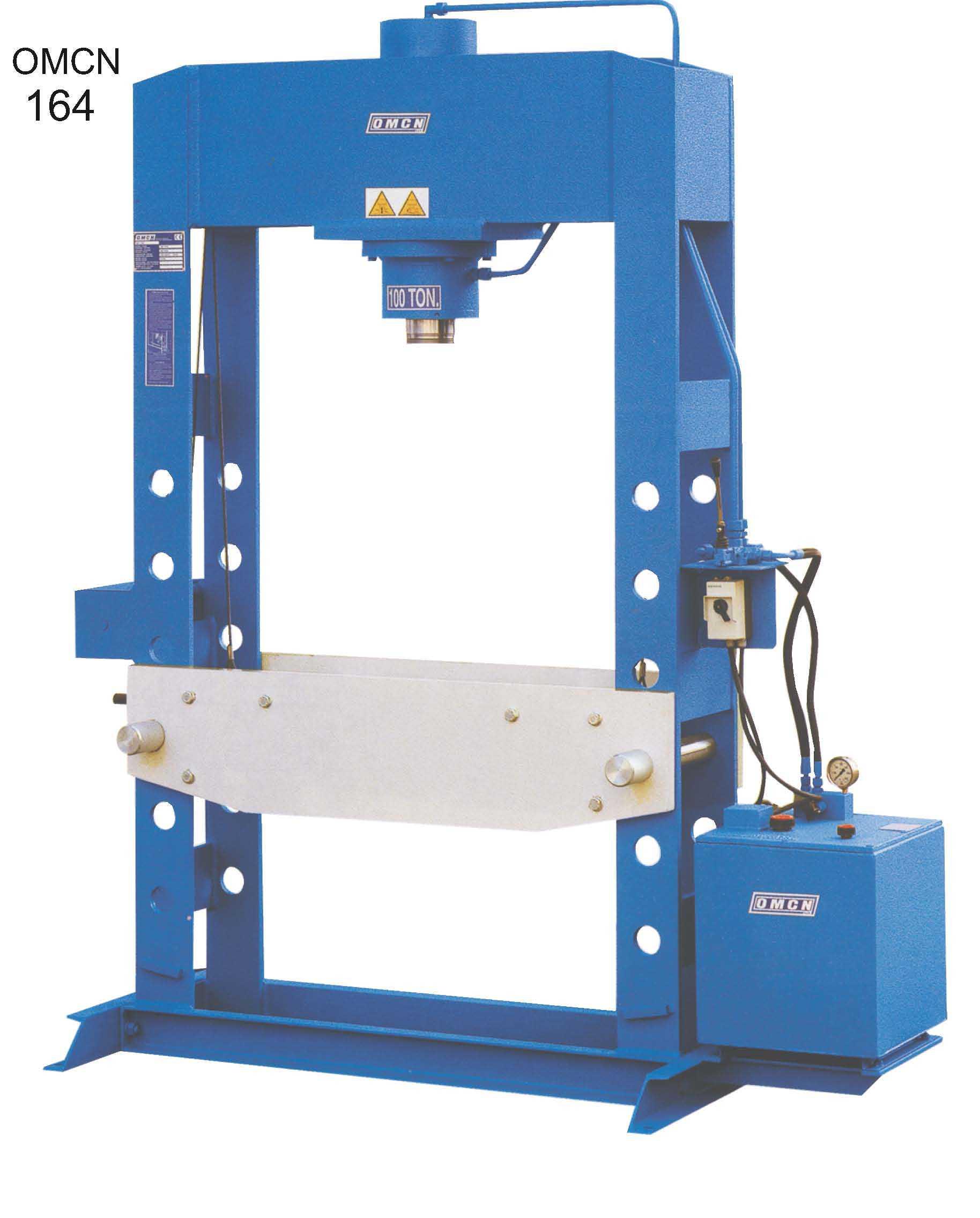 OMCN 164 elektro-hydraulický lis