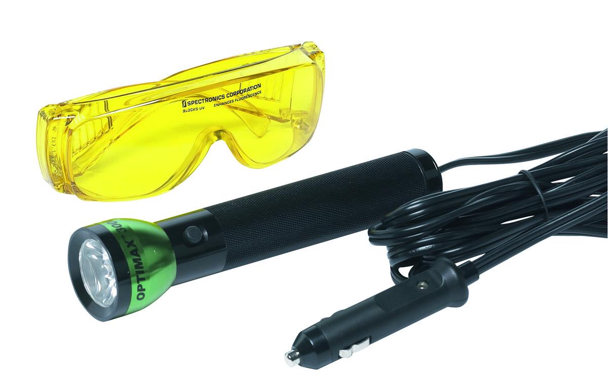 UV lampa na detekci netěsnosti se studeným světlem