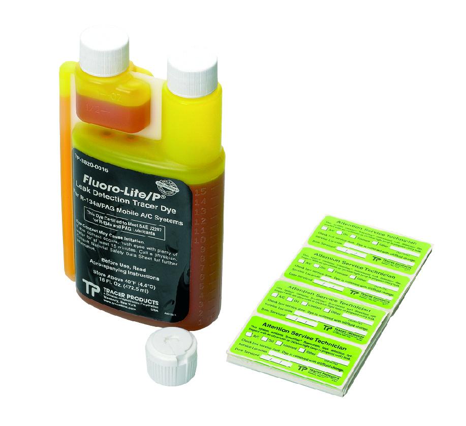 Tracer lahve pro R134a