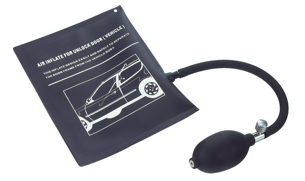 Nafukovací polštář na otevření dveří automobilu