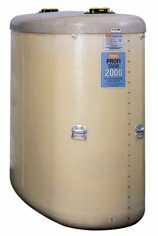 CEMO 7327 dvouplášťová nádoba na olej