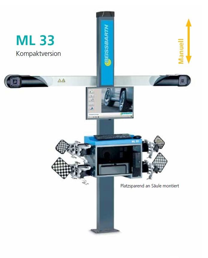 ML33 - 3D měření geometrie kol