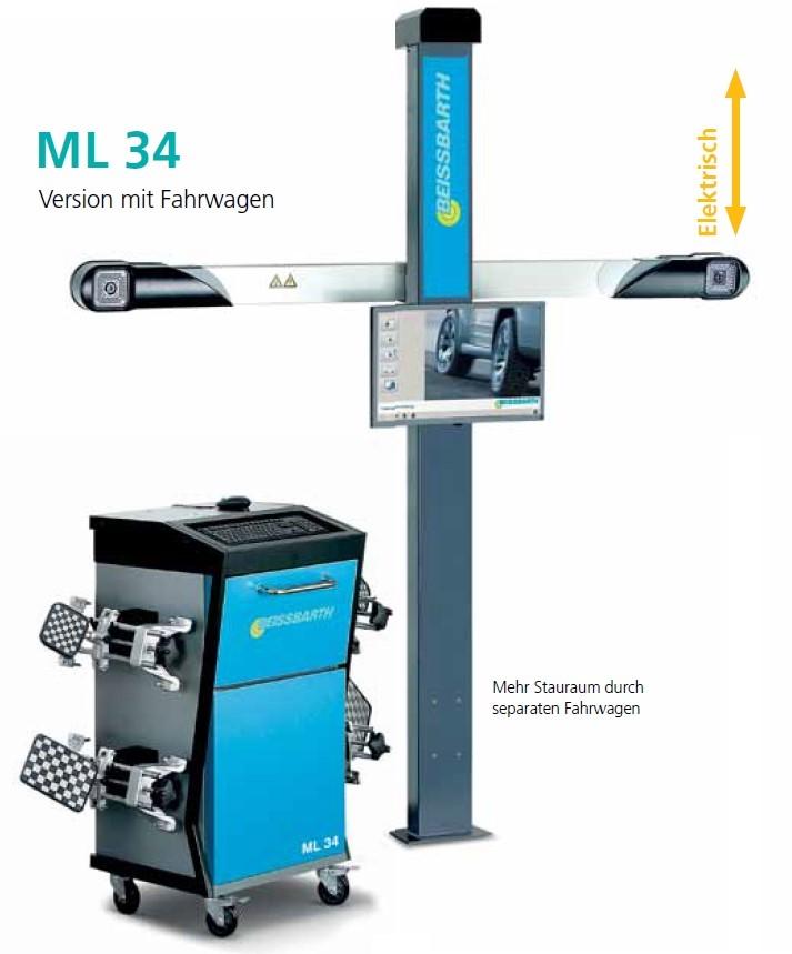 ML34 - 3D měření geometrie kol