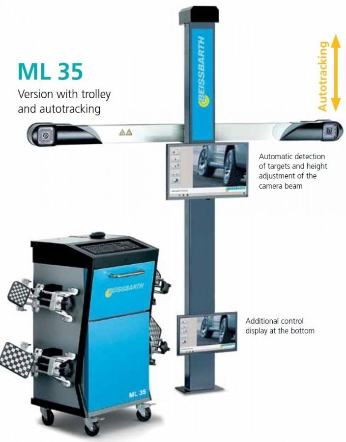 ML35 - 3D měření geometrie kol