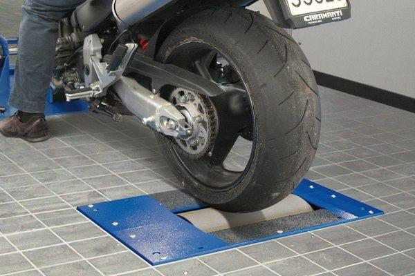 Jednoválcová výkonová zkušebna MAHA MSR 400 POWERDYNO pro motocykly