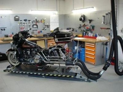 S-tec odsávání pro motocykly