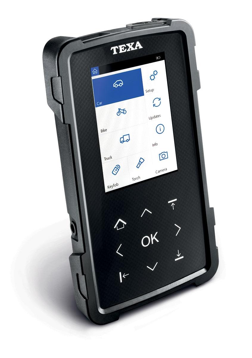 TPS2 - TPMS zařízení z TEXA